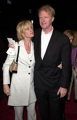 Premiere: Ed Begley Jr. and gal at the Hollywood premiere of MGM's Heartbreakers - 3/19/2001