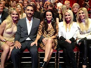 Kyle Richards, Brandi Glanville Cheer on Lisa Vanderpump on Dancing with the Stars