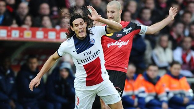 Guingamp v PSG (Cavani and Mathis)