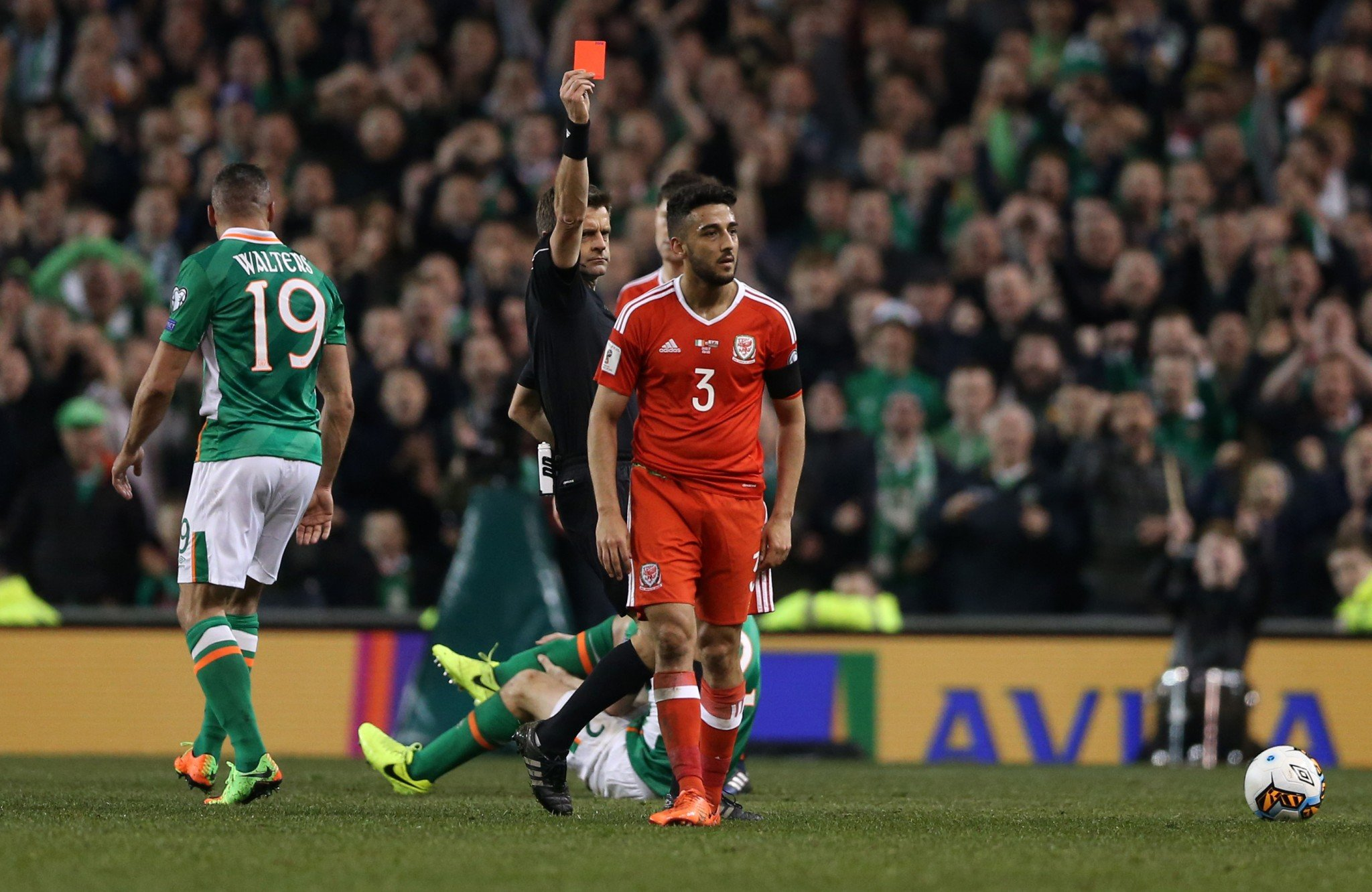 Neil Taylor is reported to have been inconsolable after his challenge broke Seamus Coleman's leg
