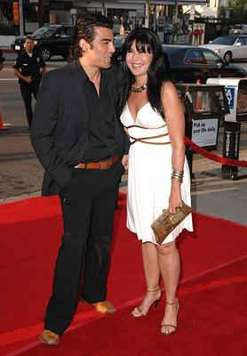 Maria Conchita Alonso and guest at the Los Angeles premiere of Picturehouse's El Cantante