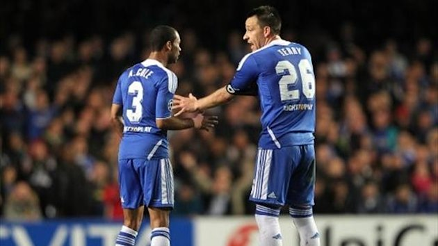 John Terry and Ashley Cole (PA)