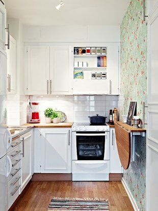 Make a Tiny Kitchen Luxurious
