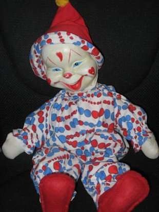 Antiquity stabbity clown dolls