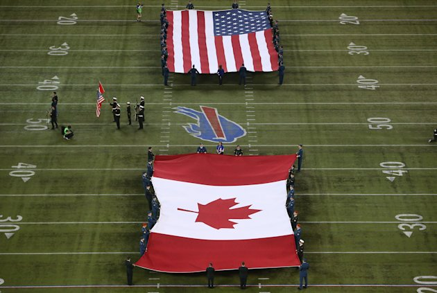 NFL not welcomed at the expense of CFL (Getty Images)