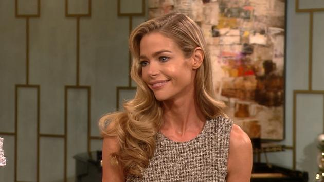 Denise Richards stops by Access Hollywood Live on December 19, 2012 -- Access Hollywood