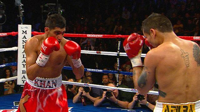 Amir Khan vs. Marcos Maidana: Full Fight