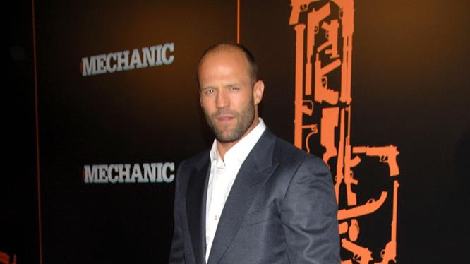 The Mechanic LA Premiere 2011 Jason Statham