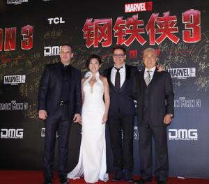 Robert Downey Jr. Brings 'Iron Man 3' to China (Photos)