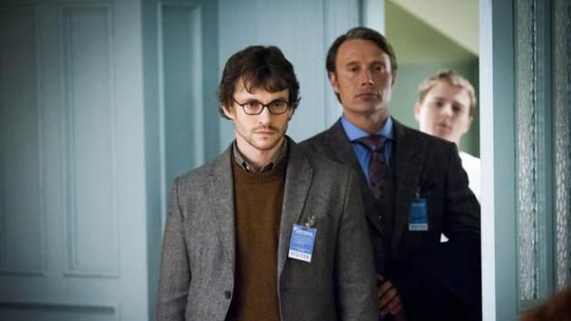 Hugh Dancy as Will Graham, Mads Mikkelsen as Dr. Hannibal Lecter -- NBC