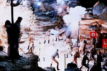 A scene from Paramount Pictures' Raiders of the Lost Ark