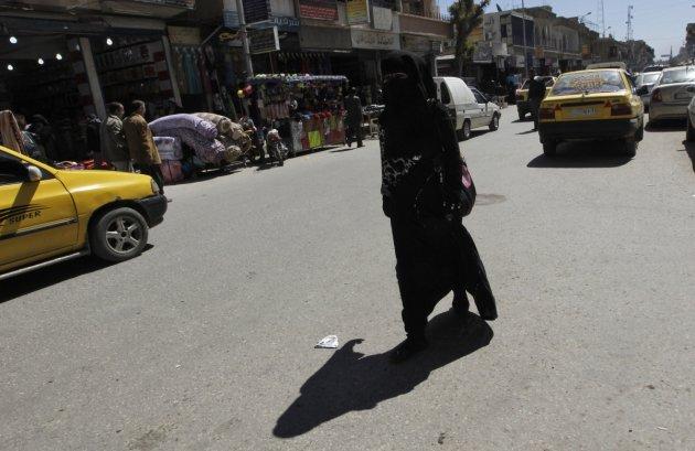 Raqqa woman Syria