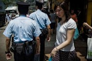 In a first for Asia, Hong Kong police said Thursday they will trial the use of video cameras attached to their uniforms to film exchanges with the public, despite concerns from human rights groups