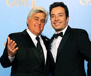 "Jay Leno Congratulates New Tonight Show Host Jimmy Fallon: ""He's Going to Do a Great Job"""