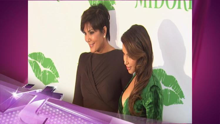 Entertainment News Pop: Kim Kardashian Makes First Post-Baby Appearance On Kris Jenner Show
