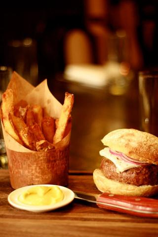 This isn't just any ordinary burger. The burger at the Breslin is a chargrilled lamb burger with…