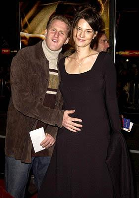 Premiere: Michael Rapaport with wife Nicole at the Hollywood premiere of Ali - 12/12/2001