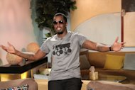 Sean 'Diddy' Combs poses backstage on Access Hollywood Live on September 27, 2012 -- Access Hollywood