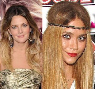 drew barrymore mary kate olsen