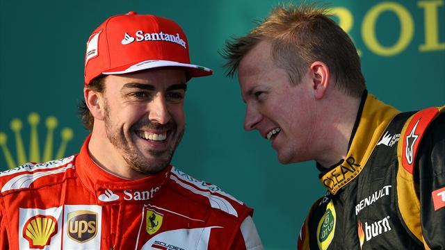 Formula 1 - Raikkonen/Alonso 'will collide' - Massa