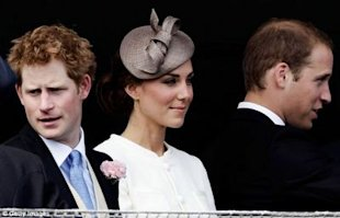 kate middleton and prince william prince harry