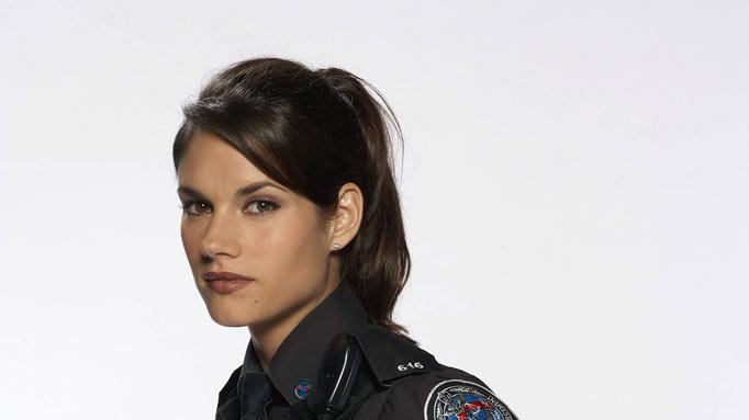 "Missy Peregrym stars as Andy McNally in ""Rookie Blue."""