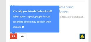 Google Plus Tips Explain What happens when you +1 image google plusone tip