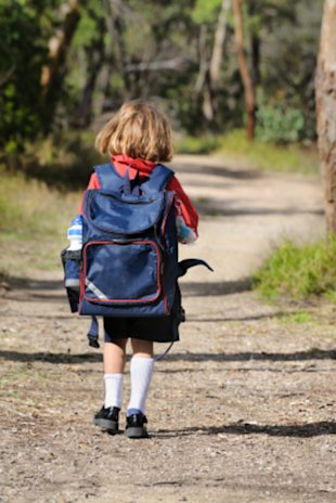 Parents should encourage their children to walk every morning before going to school