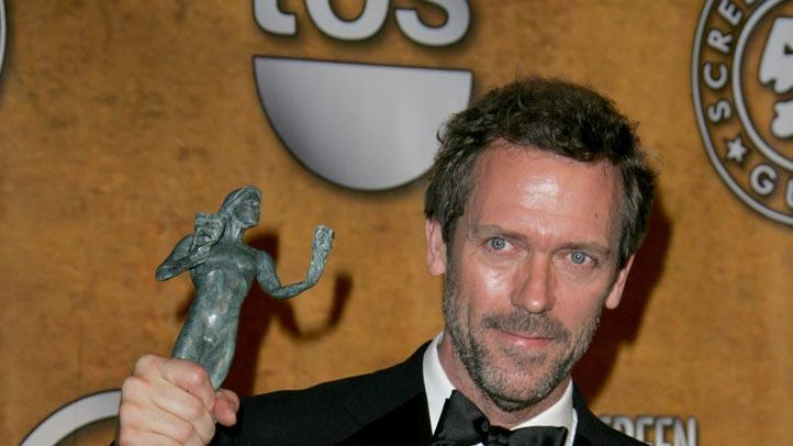 Hugh Laurie at the 13th Annual Screen Actors Guild Awards. - January 28, 2007