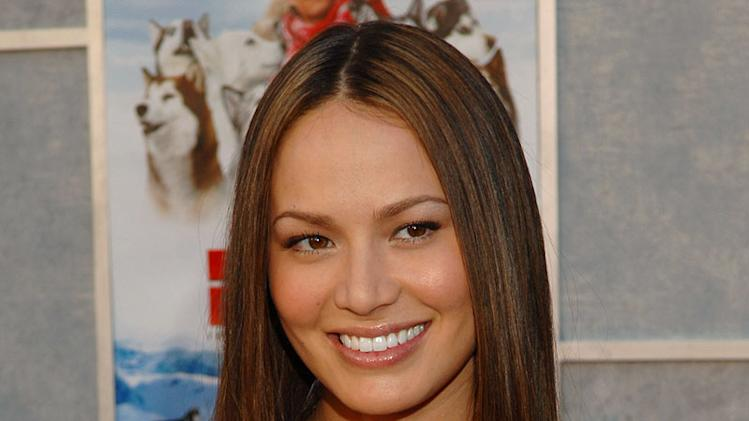 "Moon Bloodgood of Journeyman at the ""Eight Below"" World Premiere."