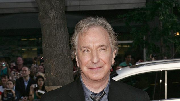 Harry Potter and the Half Blood Prince NY Premiere 2009 Alan Rickman
