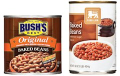 Bush's beans vs. Food Lion