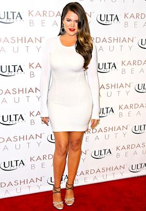 Khloe Kardashian Shows Off Weight Loss in Tight White Minidress: Picture