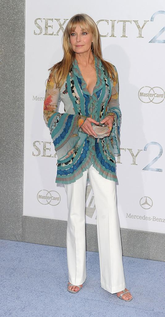 Sex and the city 2 NY premiere 2010 Bo Derek