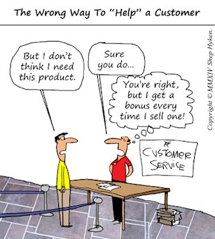 Reasons for Customer Service Debacle image The Wrong Way to Help a Customer Low Res