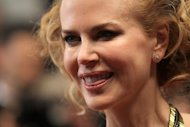 "Australian actress Nicole Kidman at the 65th Cannes film festival on May 25, 2012. Prince Albert of Monaco and his sisters have denounced a new biographical film starring Kidman as their mother Grace Kelly as ""glamorised"" and ""pure fiction."""