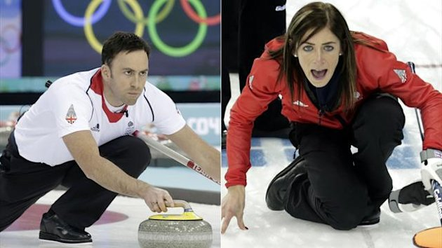 David Murdoch and Eve Muirhead