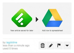5 Ways to Turbo Boost your RSS with Feedly and IFTTT image feedly to google drive 540x3871