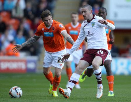 Soccer - Sky Bet Championship - Blackpool v Burnley - Bloomfield Road