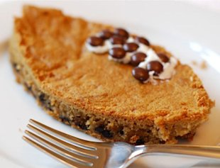 Football Chocolate Chip Cookie PIes