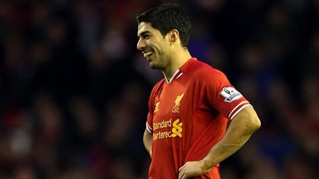 Luis Suarez has scored 20 goals this season