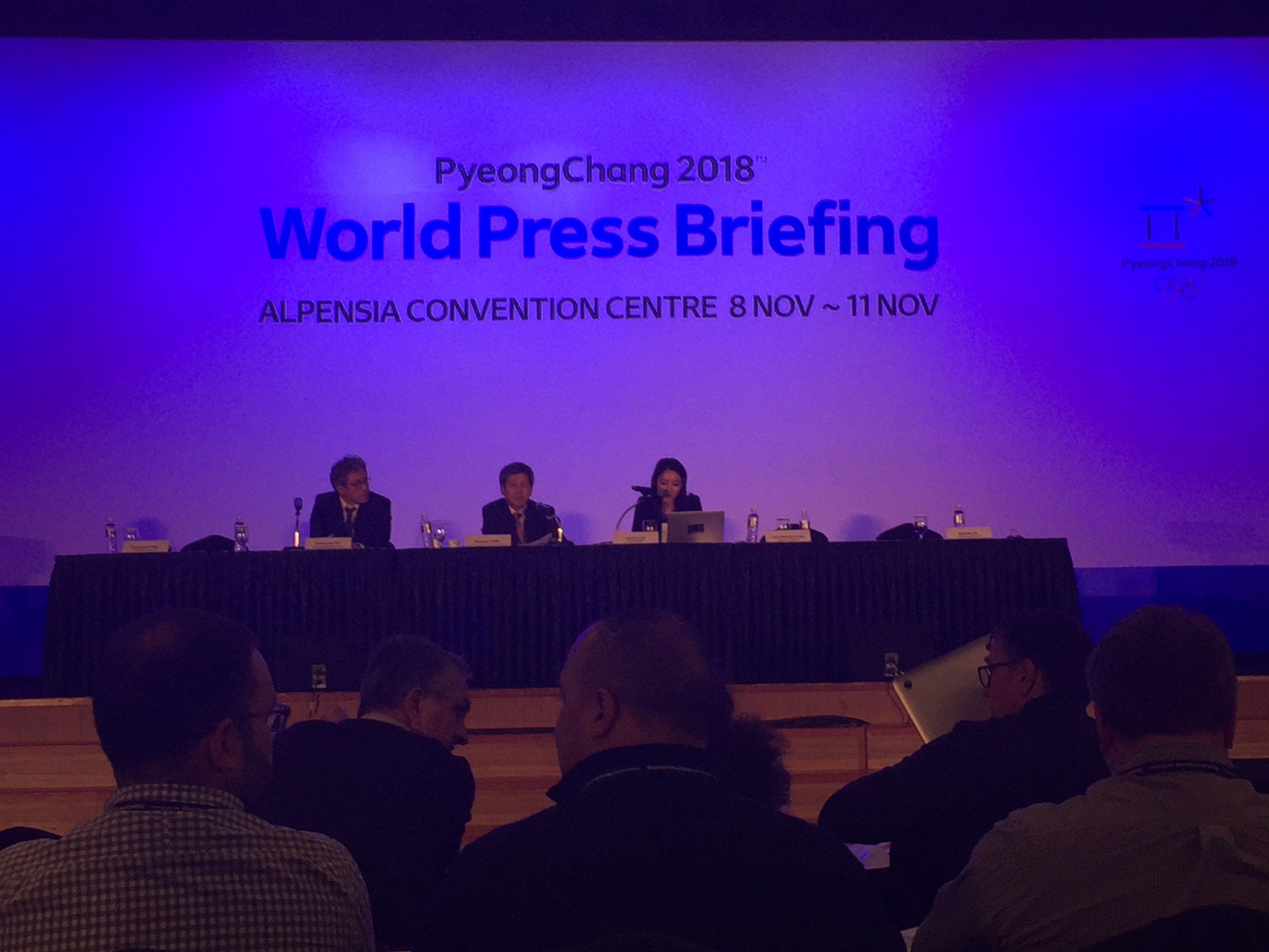 PyeongChang 2018 World Press Briefing