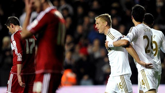 League Cup - Swansea reach semi-finals for first time
