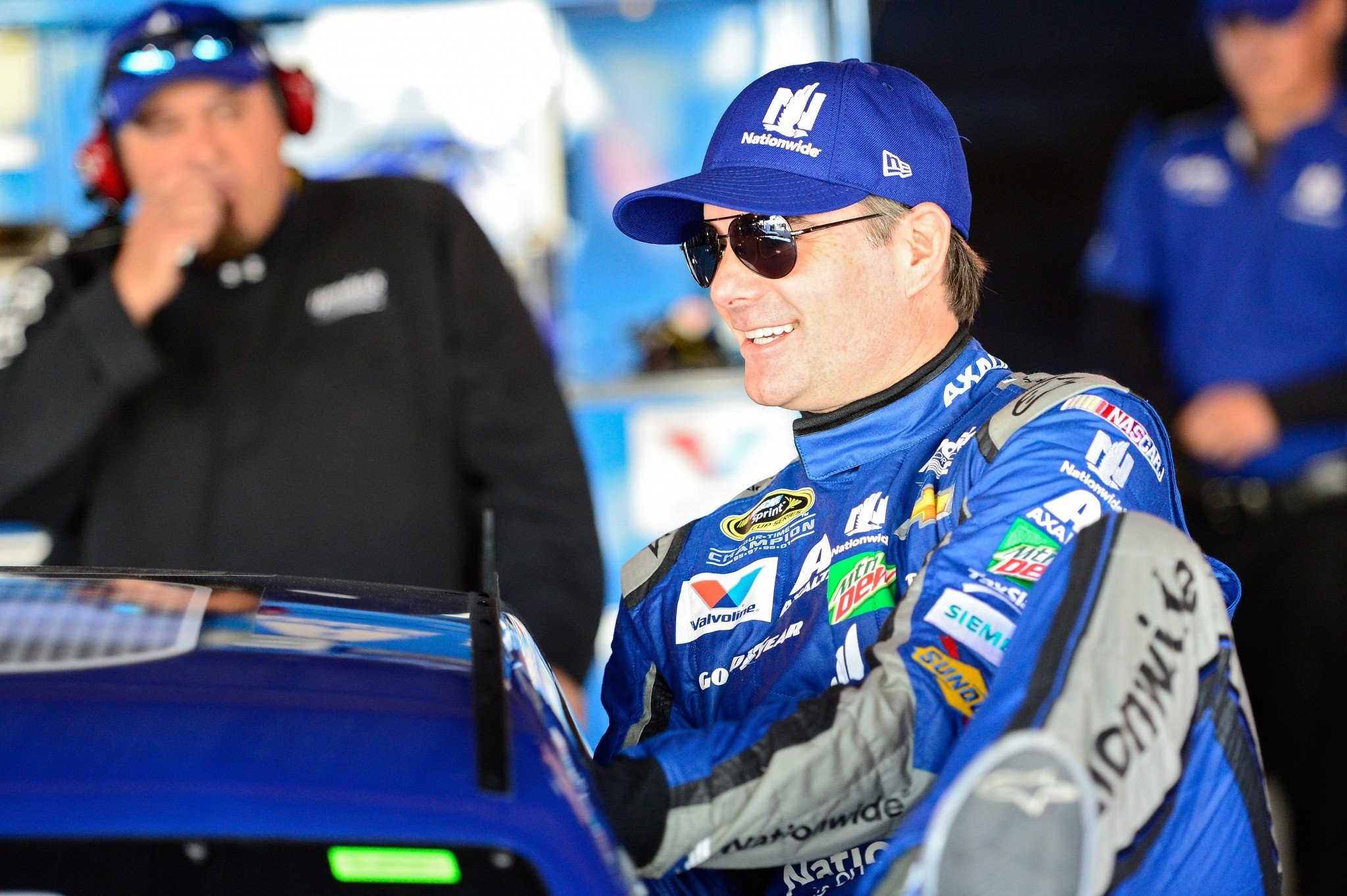 Sunday is Jeff Gordon's 805th -- and possibly final -- Sprint Cup Series start. (Getty)