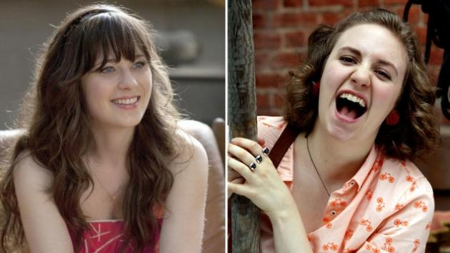 Zooey Deschanel / Lena Dunham  -- Access Hollywood