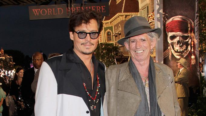 Pirates of the Caribbean On Stranger Tides LA Premiere 2011 Johnny Depp