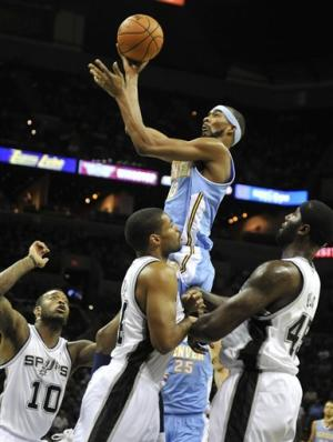 Brewer scores 24 for Nuggets in preseason opener