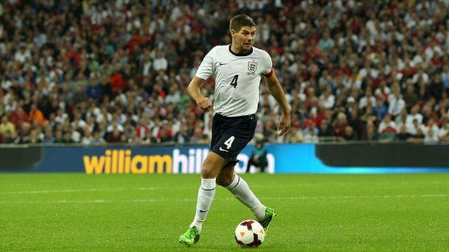Football - England hopeful over Gerrard