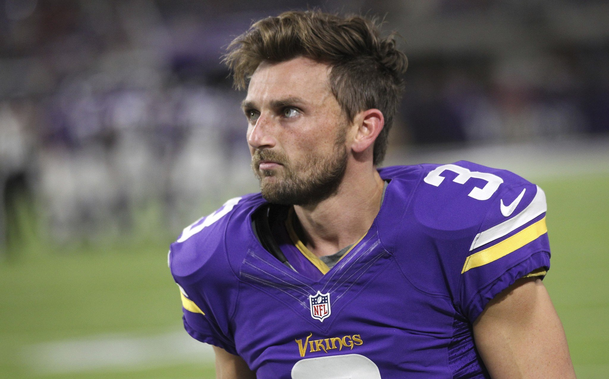 The Minnesota Vikings have moved on from kicker Blair Walsh. (AP)