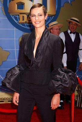 Cecile de France at the Hollywood premiere of Walt Disney's Around the World in 80 Days